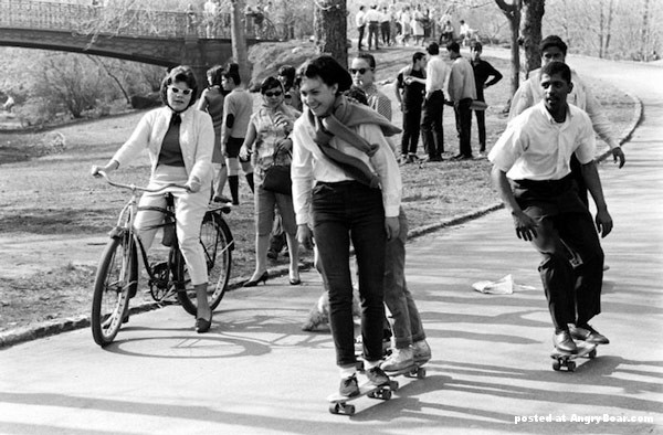 Early Skateboarding